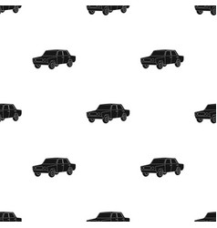 old carcar single icon in black style vector image