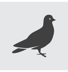 Dove icon vector image