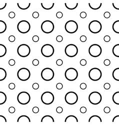 Polka dot geometric seamless pattern 1003 vector image