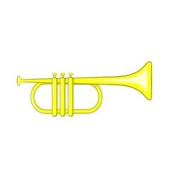 Music tube icon cartoon style vector image vector image