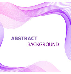 Abstract background with pink and purple lines vector