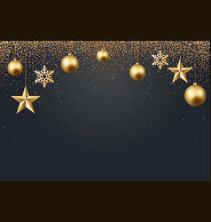 christmas 2017 background vector image