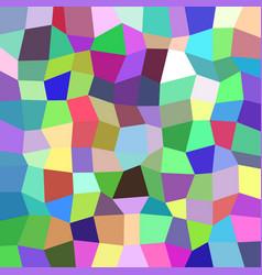 Geometrical abstract irregular polygon mosaic vector