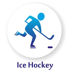 IceHockey vector image