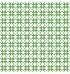 seamless guilloche background green vector image