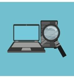 Search laptop data server vector
