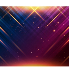 Abstract striped background with light effects vector