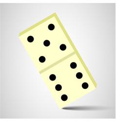 domino icon domino sign vector image