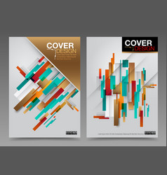cover design abstract number one master vector image vector image