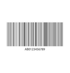 concept barcode information strip code data vector image