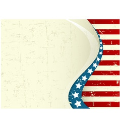 Fourth july background vector