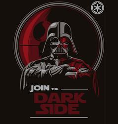 Join darkside vector