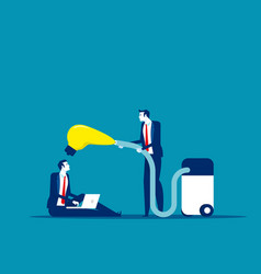 People suck colleague ideas concept business vector