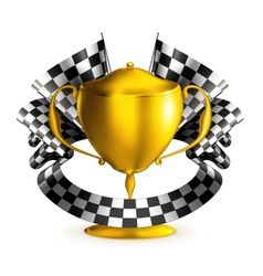 Prize race vector image vector image