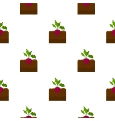 Beet icon cartoon Single plant icon from the big vector