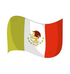 cinco de mayo flag national mexican symbol vector image