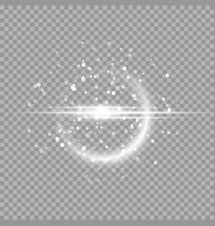 Cosmic light rays vector