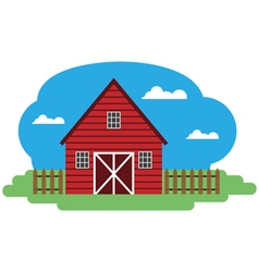 farm building vector image