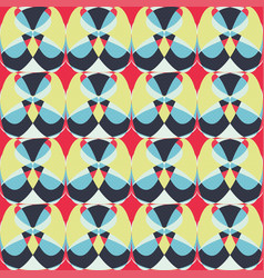 graffiti colored polygons seamless pattern vector image