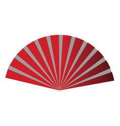 hand fan icon vector image