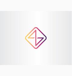 Initial letter z logo template alphabet symbol vector