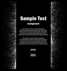 ink blots and text background vector image vector image