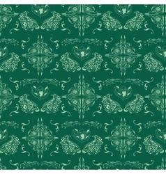 Green islamic pattern vector image vector image