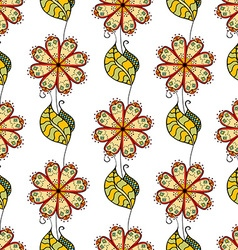 Abstract Floral Patterned Background vector image