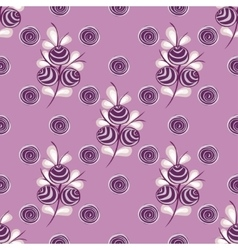 Abstract Berries seamless pattern vector image
