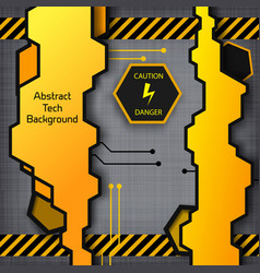 abstract industrial construction template vector image