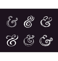 Ampersand vector