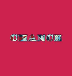 Chance concept word art vector
