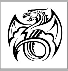 Dragon logodragon logo template vector
