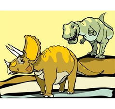 Hunting the Triceratops vector