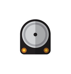 isolated hard drive flat icon hdd element vector image