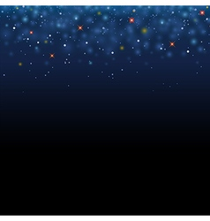 Magic star shine sky magical glitter sky space vector