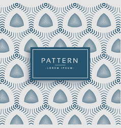 stylish modern pattern design made with lines vector image