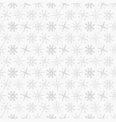 white festive christmas snowflake stripes seamless vector image