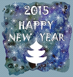 Happy New Year Greeting Card Happy holidays vector image vector image
