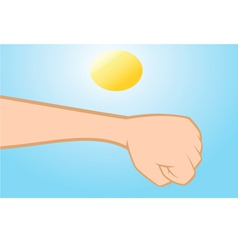 skin cancer vector image vector image