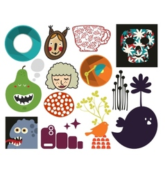 Mix of different images vol73 vector