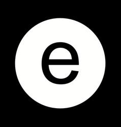 Beautiful edge glyph icon vector