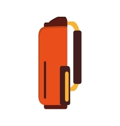Golf bag icon vector