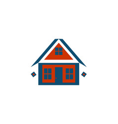 house logo designs inspiration isolated on white vector image