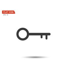 key icon flat logo classic style vector image