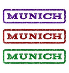 Munich watermark stamp vector