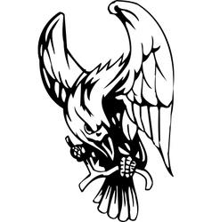 Raven - halloween set vector