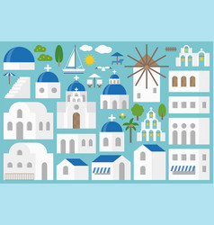 Santorini elements constructor set vector