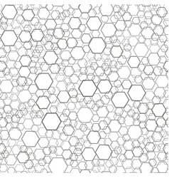 Seamless comb pattern vector
