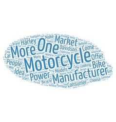 The History of Motorcycles text background vector